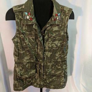 🎁☃️Camo milita women's vest  large decree size la